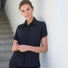 Load image into Gallery viewer, Henbury Womens Wicking Antibacterial Short Sleeve Shirt