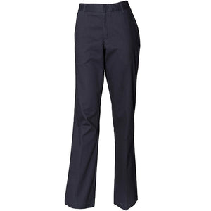 Henbury Womens Teflon Coated Flat Front Trouser