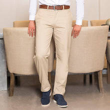 Load image into Gallery viewer, Henbury Teflon Coated Flat Front Chino