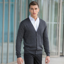 Load image into Gallery viewer, Henbury V-button Cardigan