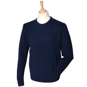 Henbury Crew Neck Lambswool Jumper