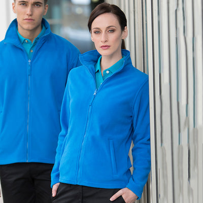 Henbury Womens Microfleece Jacket