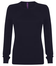 Load image into Gallery viewer, Henbury  Womens Crew Neck Jumper