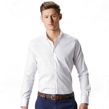 Load image into Gallery viewer, Kustom Kit  Stretch Oxford Shirt Long-sleeved (slim Fit)