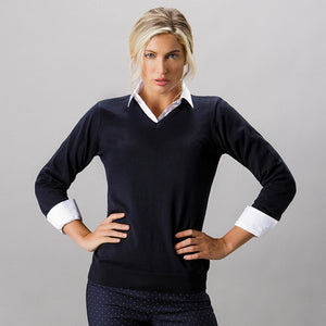 Kustom Kit Womens Arundel Sweater Long Sleeve