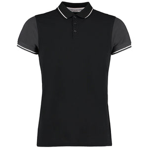 Kustom Kit  Contrast Tipped Polo