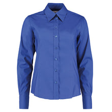 Load image into Gallery viewer, Kustom Kit Womens Corporate Oxford Blouse Long Sleeved