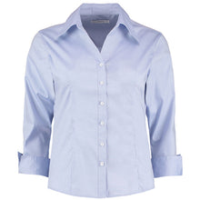 Load image into Gallery viewer, Kustom Kit Womens Corporate Oxford Shirt  Sleeved