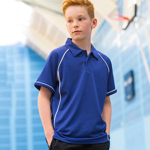 Finden & Hales Kids Piped Performance Polo