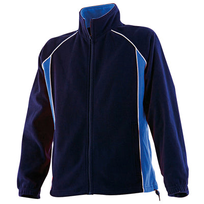 Finden & Hales Womens Piped Microfleece Jacket