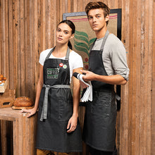 Load image into Gallery viewer, Premier  District Waxed-look Denim Bib Apron