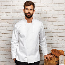 Load image into Gallery viewer, Premier Long Sleeve Chefs Jacket