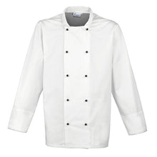 Load image into Gallery viewer, Premier Cuisine Long Sleeve Chefs Jacket