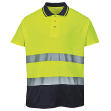 Load image into Gallery viewer, Portwest  Hi-vis Two-tone Cotton Comfort Polo Shirt (s174)