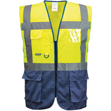 Load image into Gallery viewer, Portwest Hi-vis Executive Vest (s476)