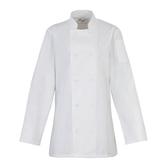 Premier Womens Long Sleeve Chefs Jacket