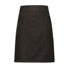 Load image into Gallery viewer, Premier  Division Waxed-look Denim Waist Apron