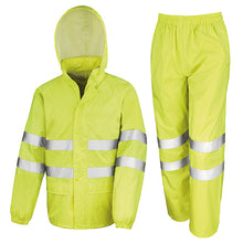 Load image into Gallery viewer, Result High-viz Waterproof Suit