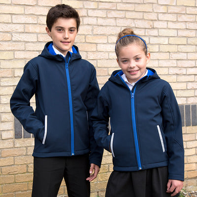 Result Core Core Junior Tx Performance Hooded Softshell Jacket