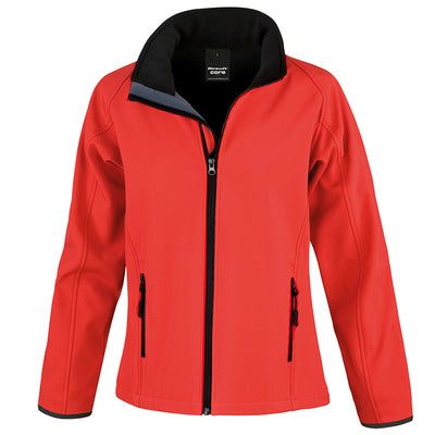 Result Core Womens Printable Softshell Jacket