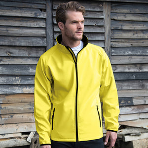 Result Core Printable Softshell Jacket