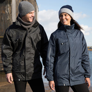 Result Core  Printable 3-in-1 Transit Jacket With Softshell Inner