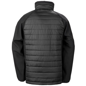 Result  Black Compass Padded Softshell Jacket
