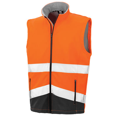 Result Safeguard  Printable Safety Softshell Gilet