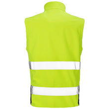 Load image into Gallery viewer, Result Safeguard  Printable Safety Softshell Gilet