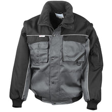 Load image into Gallery viewer, Result Work-guard Zip Sleeve Heavy Duty Pilot Jacket