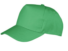 Load image into Gallery viewer, Result Core Boston 5 Panel Polycotton Printers Cap