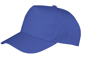 Result Core Boston 5 Panel Polycotton Printers Cap