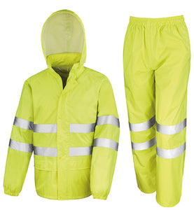 Result High-viz Waterproof Suit
