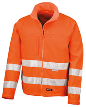Load image into Gallery viewer, Result Core High Viz Winter Softshell En471 Class 2