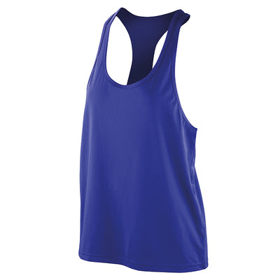 Spiro Softex Tank Top Super Soft Quick Dry Fabric With Hightec Stretch