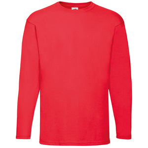 Fruit of the Loom Valueweight Long Sleeve T-shirt