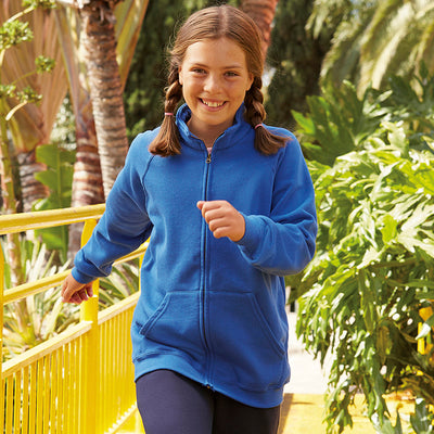 Fruit Of The Loom Classic 80/20 Kids Sweatshirt Jacket