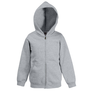 Fruit Of The Loom Classic Kids Hooded Sweatshirt Jacket
