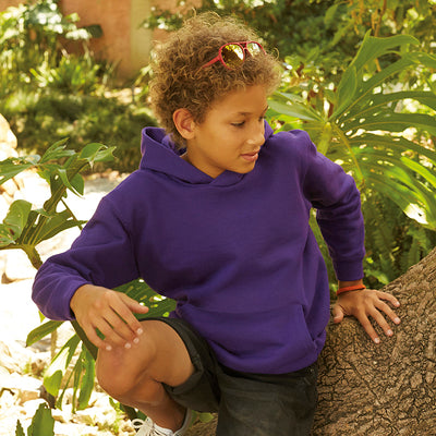 Fruit Of The Loom Classic Kids Hooded Sweatshirt