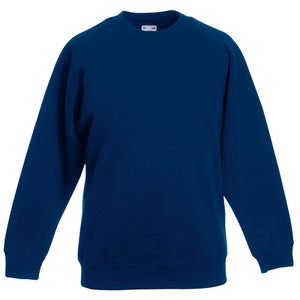 Fruit Of The Loom Premium 70/30 Kids Raglan Sweatshirt