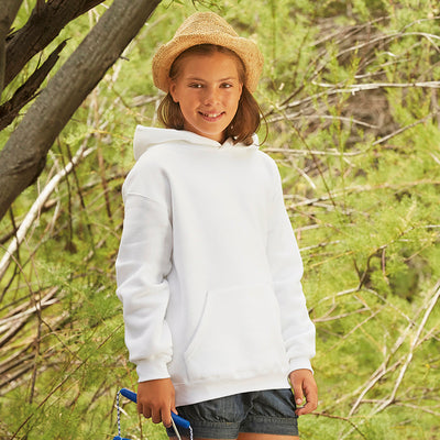 Fruit Of The Loom Premium 70/30 Kids Hooded Sweatshirt