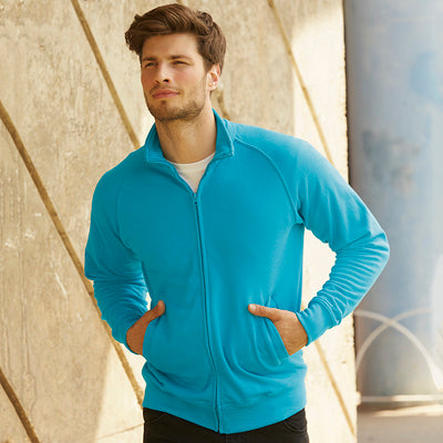 Fruit Of The Loom Lightweight Sweatshirt Jacket