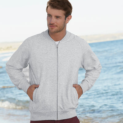 Fruit Of The Loom  Baseball Sweatshirt Jacket