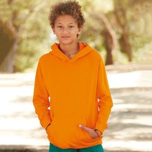 Load image into Gallery viewer, Fruit Of The Loom Kids Lightweight Hooded Sweatshirt