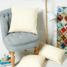 Load image into Gallery viewer, Westford Mill Fairtrade Cotton Canvas Cushion Cover