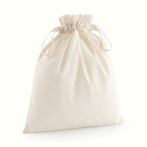 Westford Mill Organic Cotton Drawcord Bag