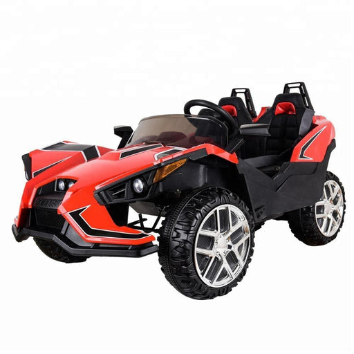 Polaais Style 12V Kids Ride on Car ATV Buggy with Parental Remote - Red