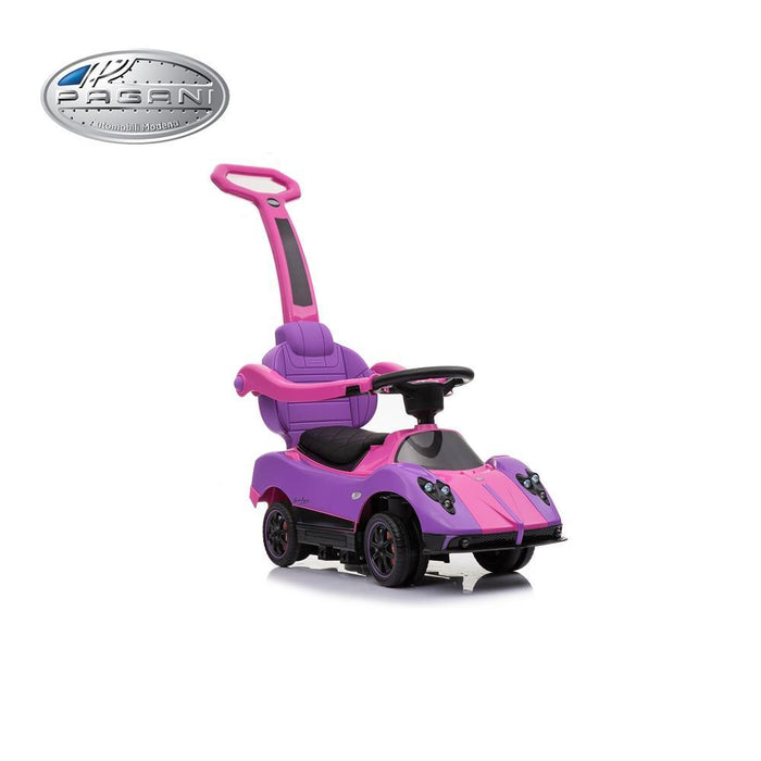 Pagani Zonda Kids Foot to Floor Ride on Car - Pink