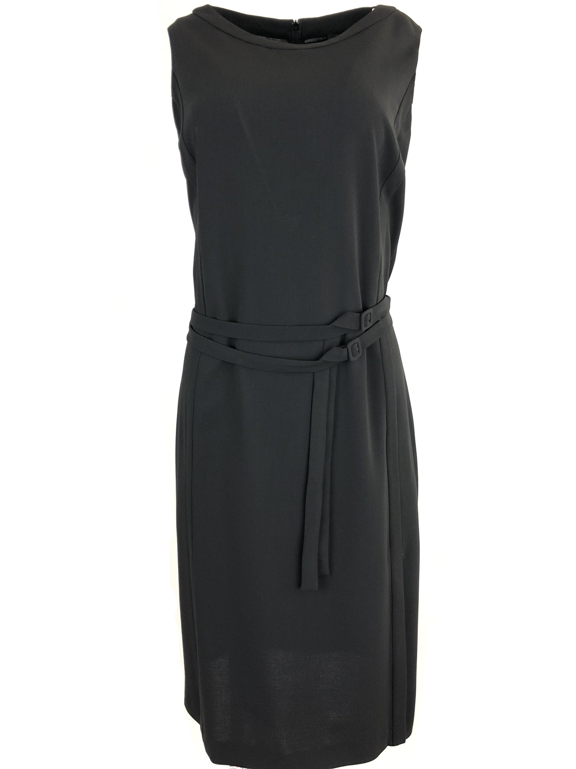 CIVIDINI BLACK ELEGANT DRESS