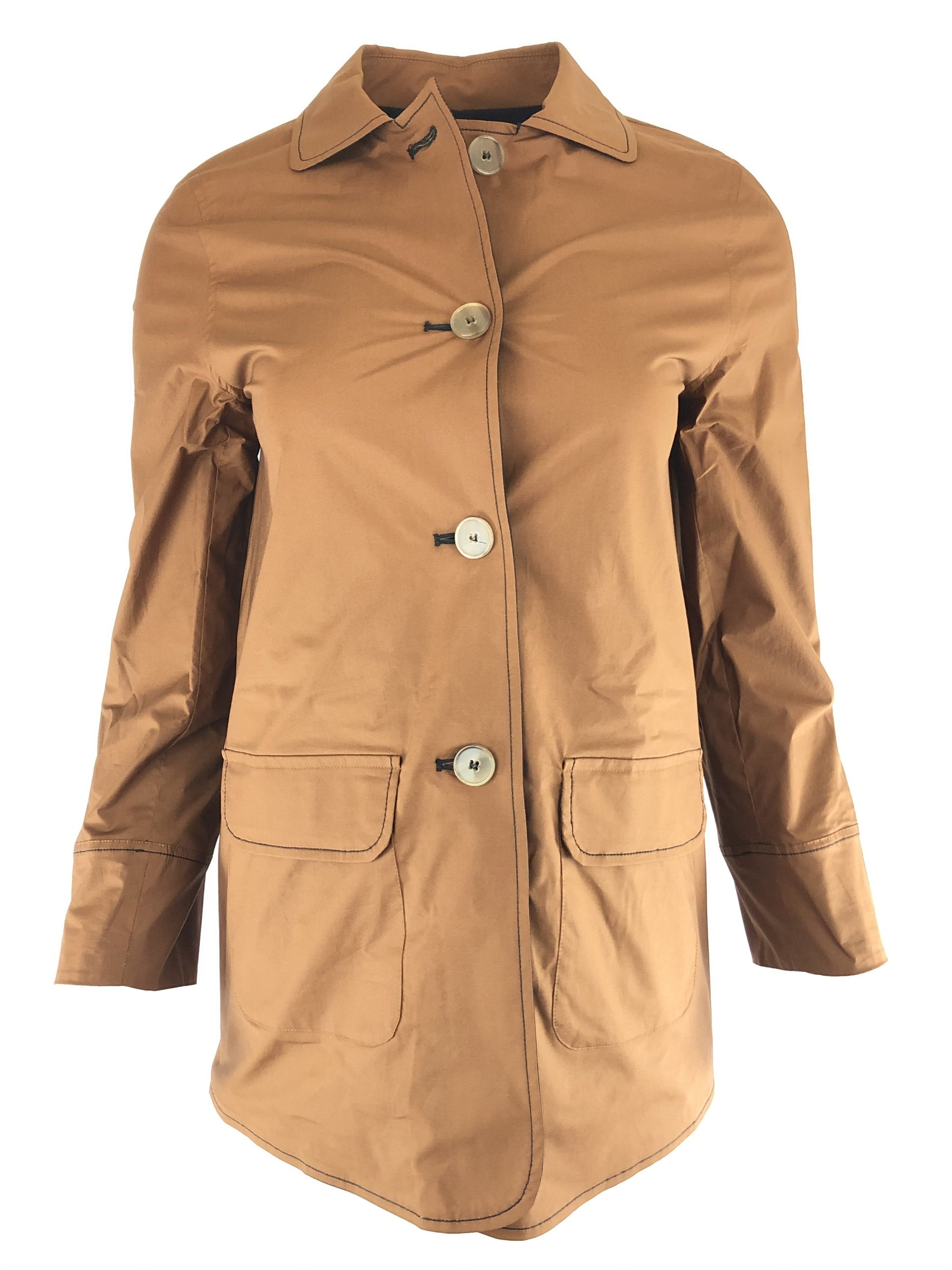 ROSSO 35 WOMEN'S REVERSIBLE JACKET - VICUNA/NAVY